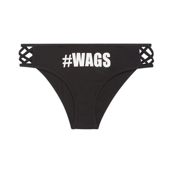 Shorty noir wagiz black.
