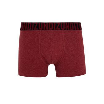 Boxer bordeaux oreliz red.