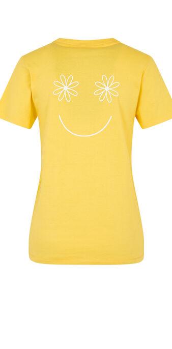 Top jaune joliefloriz yellow.