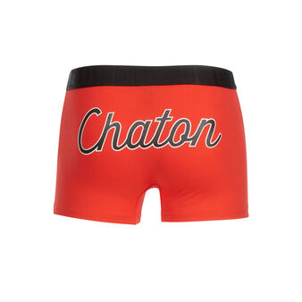 Boxer rouge chatouniz red.