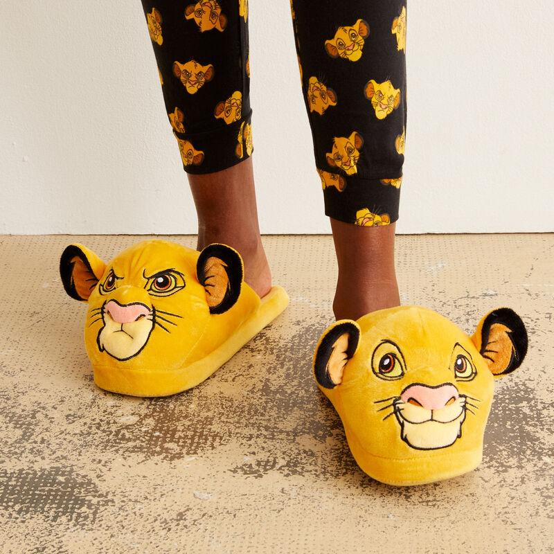 pantoffels Simba Mood - geel;