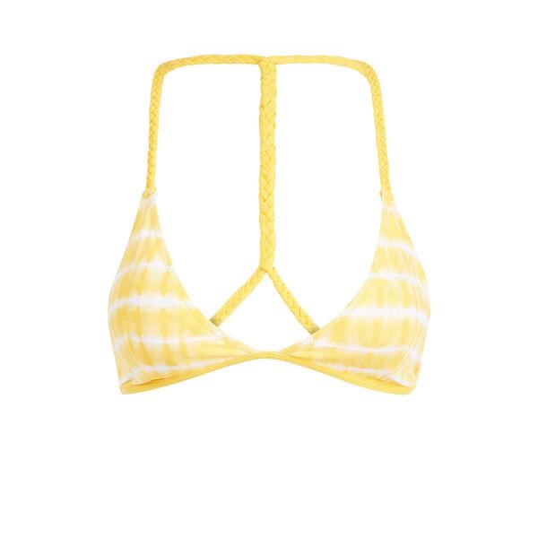 Haut de maillot jaune dyiz;${refinementColor}