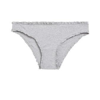 Culotte gris clair ribboniz grey.