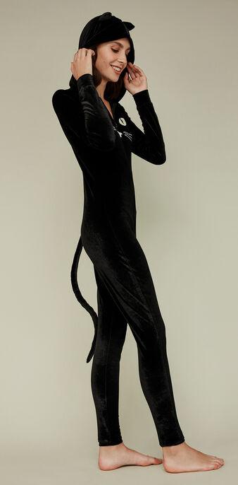 Combinaison noire catwalkiz black.