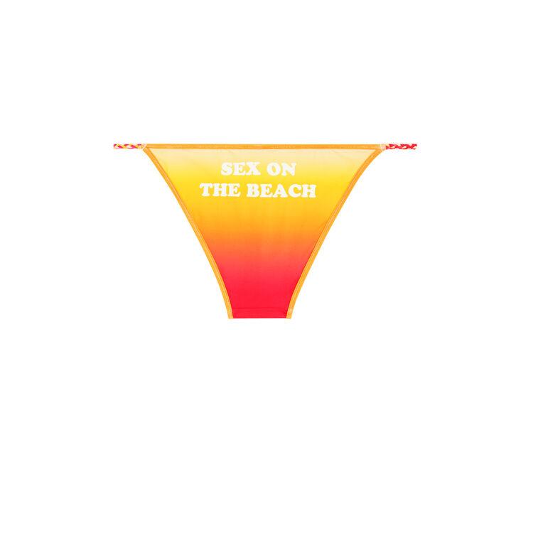 Culotte bikini jaune cheekiniz;
