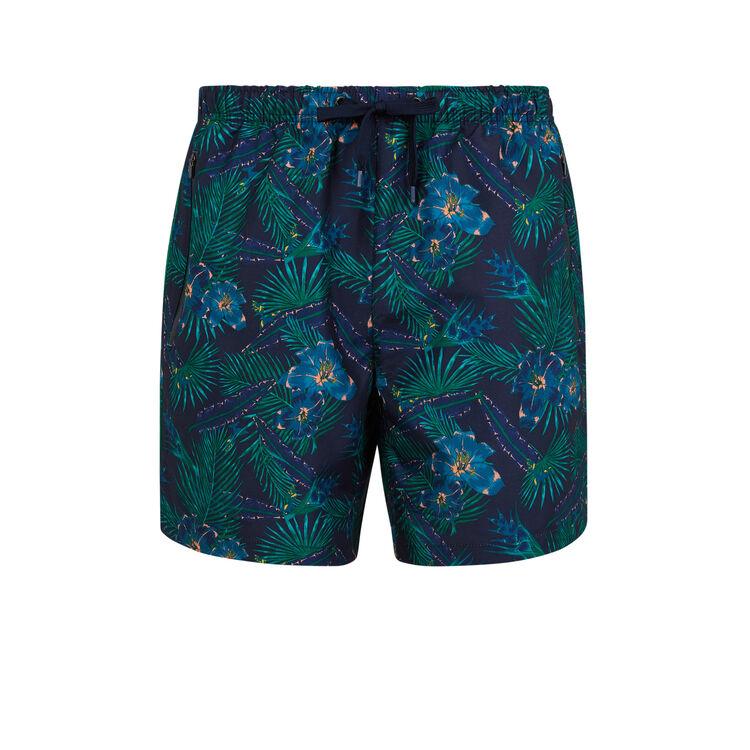 Short de bain bleu marine tropinightiz;