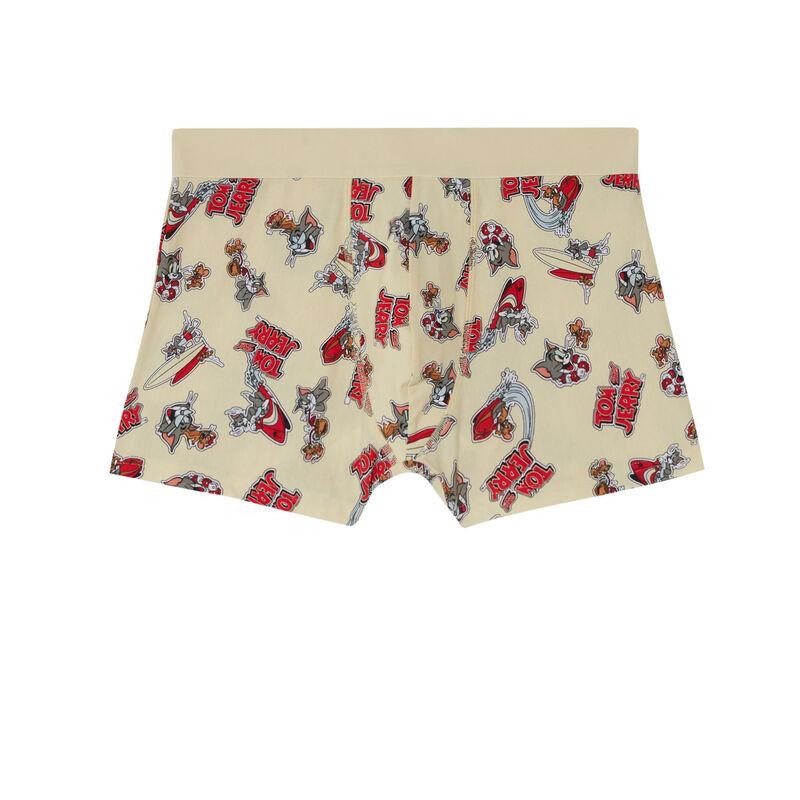 boxershort met Tom en Jerry - ecru;