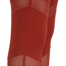 Legging couleur brique macrasportiz red.