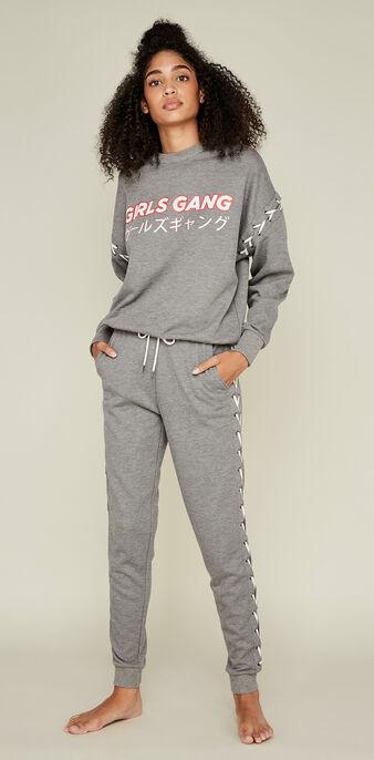 Jogging gris girlgiz grey.