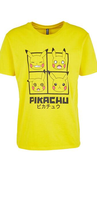 T-shirt jaune pikachiz yellow.