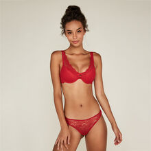 Soutien-gorge foulard push rouge everydayiz red.