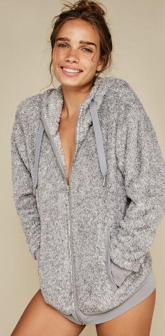 Veste grise yopiz grey.
