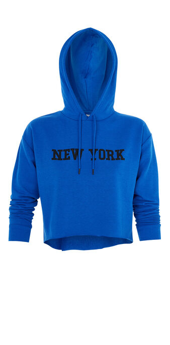 Sweat bleu newyorkiz blue.
