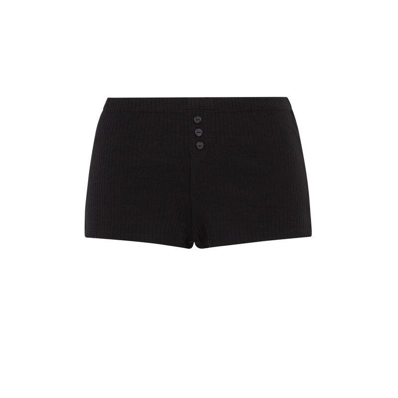 Short court uni - noir;