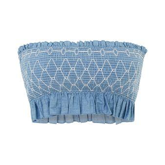 Brassière bandeau jean belliz blue.