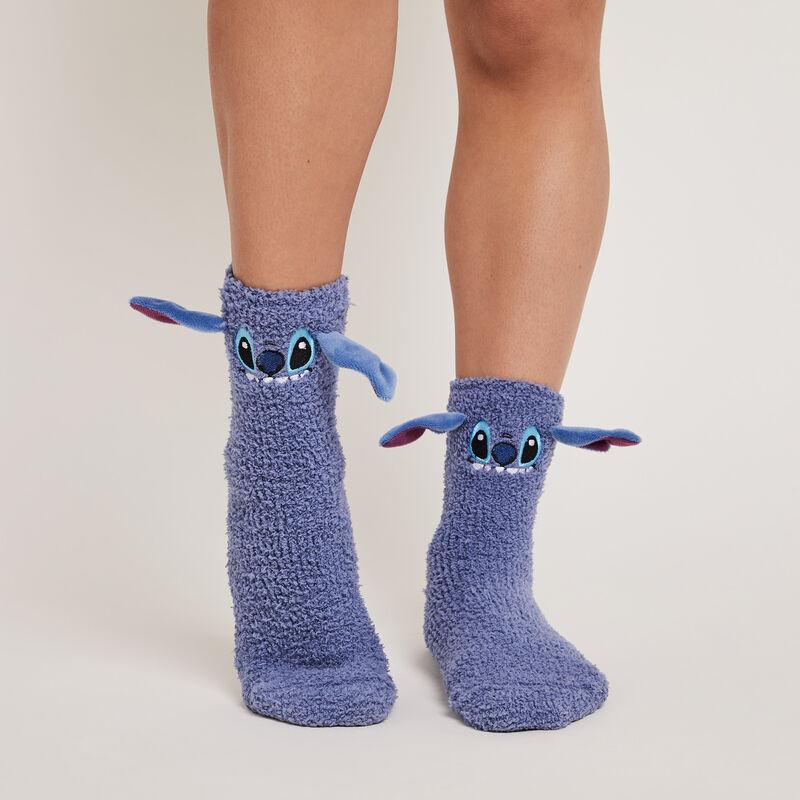 Chaussettes en fausse fourrure stitch fufustitchiz;