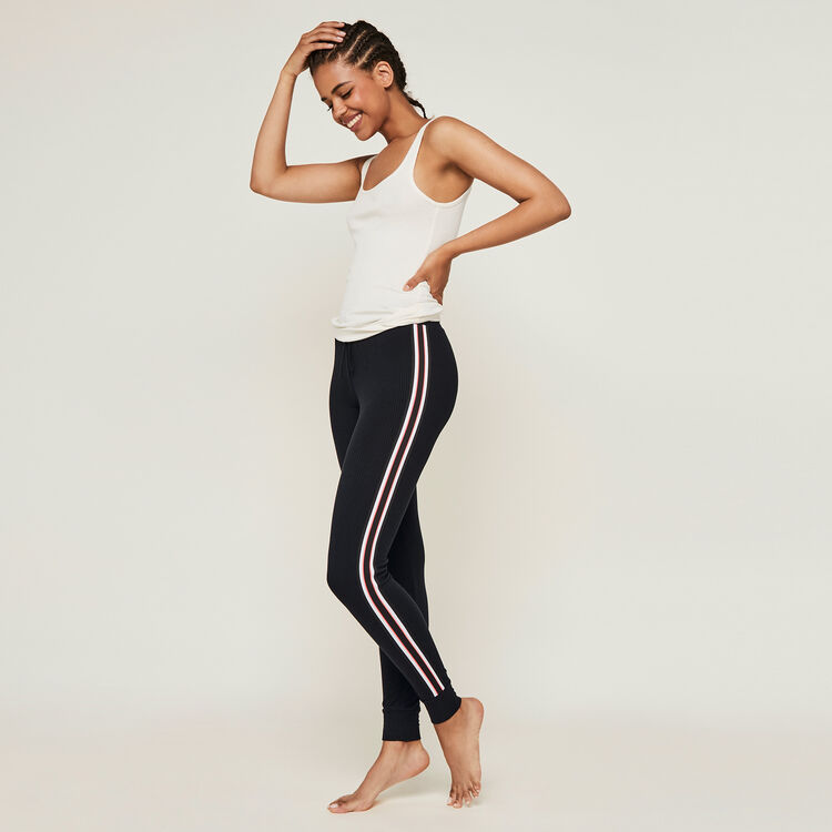 Pantalon jogging bandes laterales newazjiz;