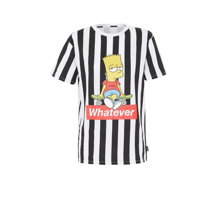 Tee-shirt a rayures print bart;
