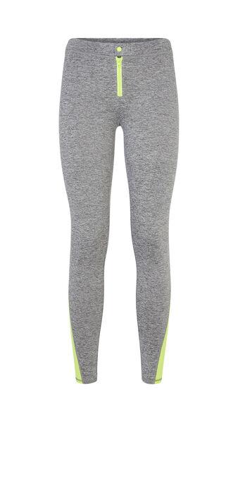 Legging de sport gris zippiz grey.