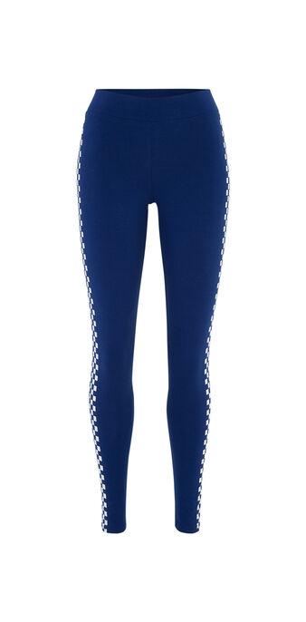 Legging bleu marine lafiliz blue.