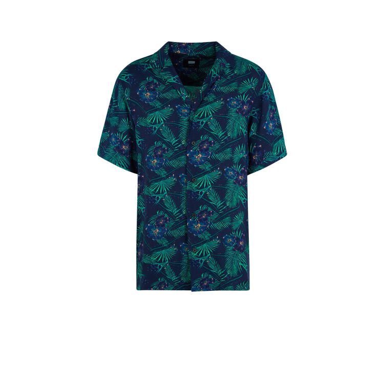 Chemise bleu marine camisagriz;