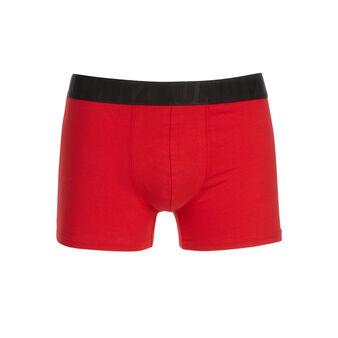 Boxer rouge milmiliz red.