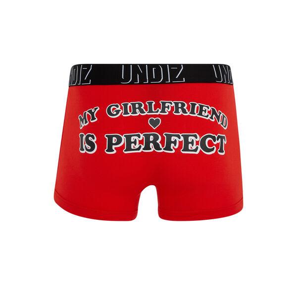 Boxer rouge wordiz;${refinementColor}