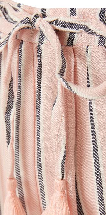 Pantalon rose pâle rayniz pink.