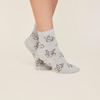 Chaussettes panpan grises lapiliz grey.