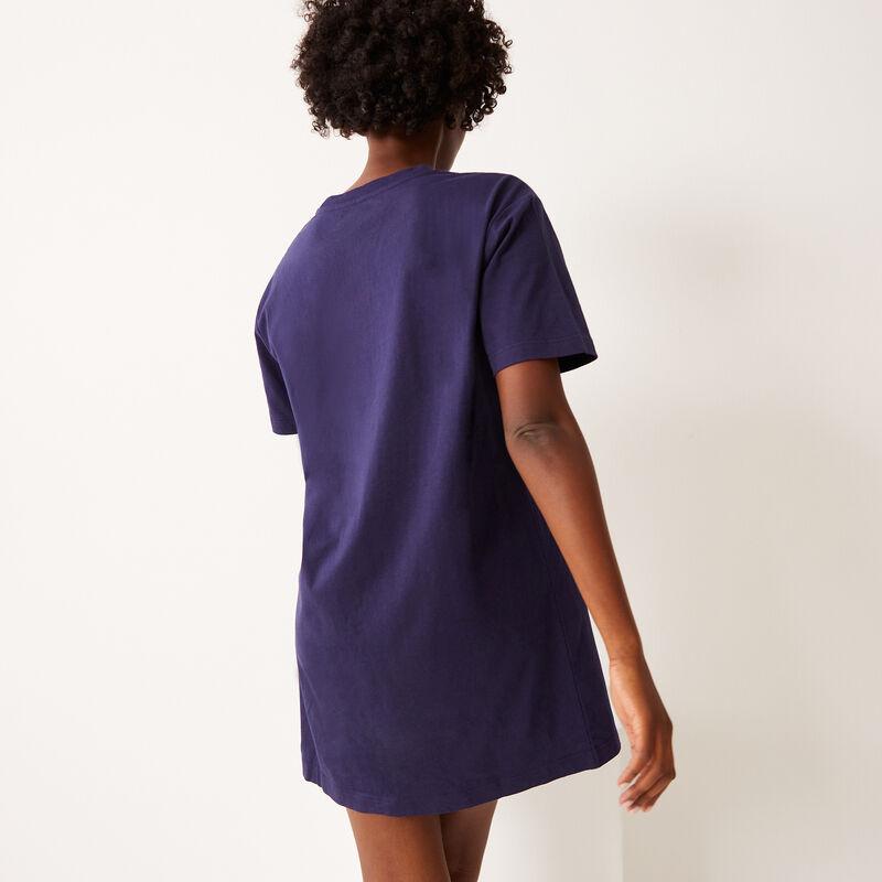 tuniek met Stitch-print - blauw ;