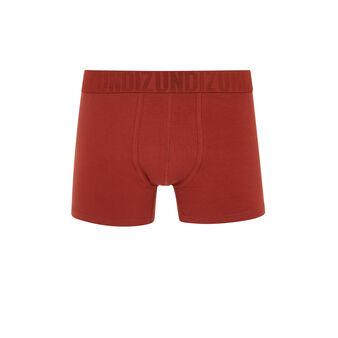 Boxer rouge oreliz red.