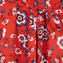 Kimono rouge redfloweriz red.