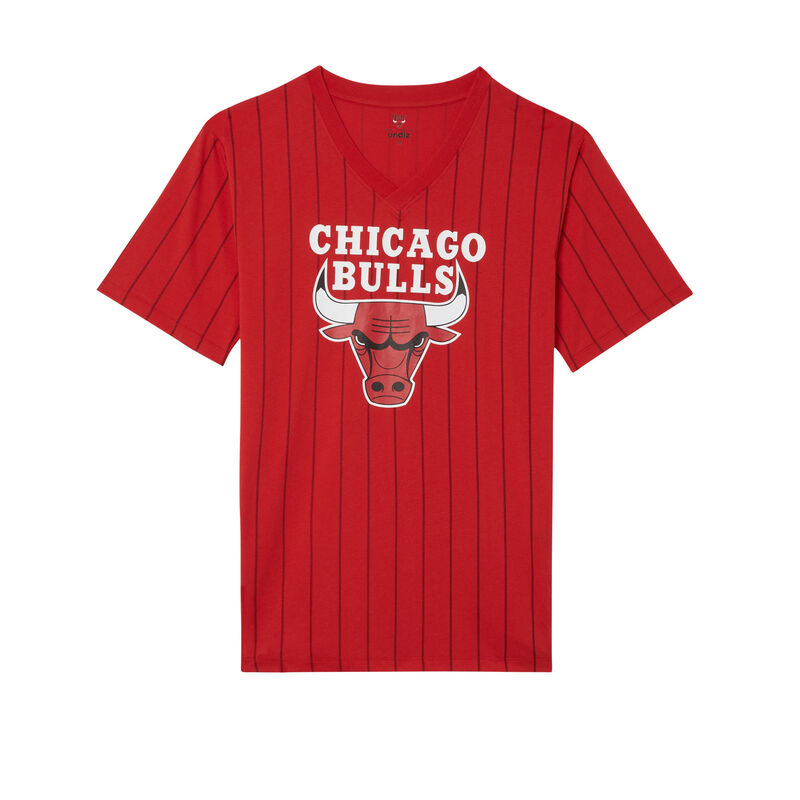 chicago bulls tuniek met v-hals - rood;