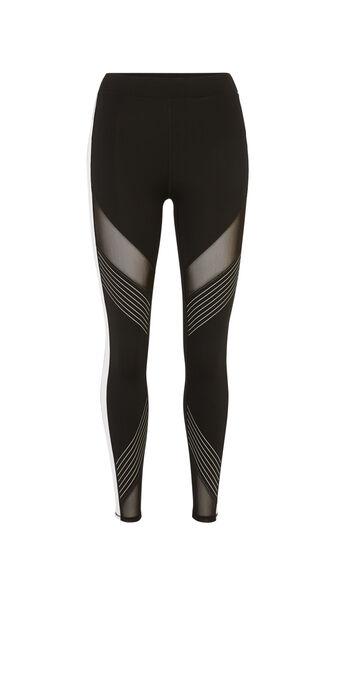 Legging noir reflexiz black.