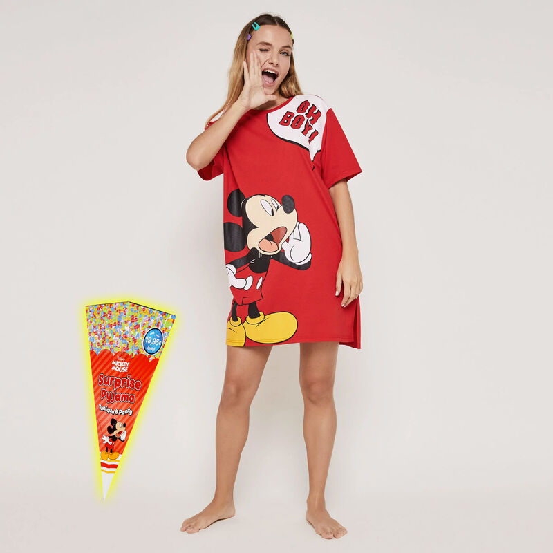 Set pyjama tunique + shorty imprimé Mickey ohboyiz;