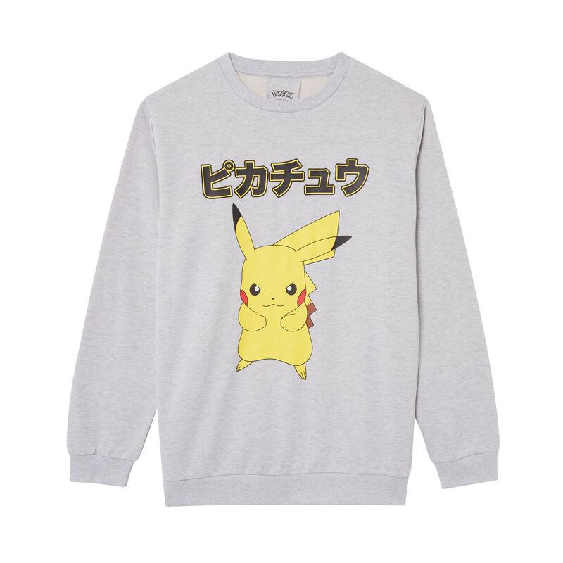 Pikachu sweater - grijs;