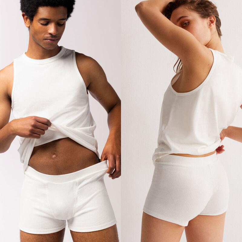 effen jersey unisex shorts - beige;