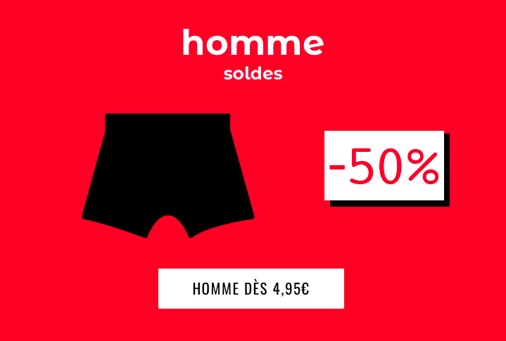 Homme -50